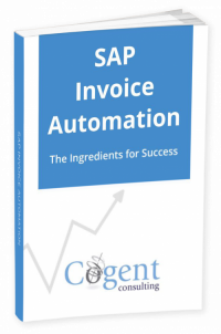 SAP invoice automation book cover